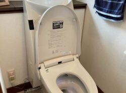 【施工事例】空間が広く感じる!コンパクトな奥行のトイレに交換